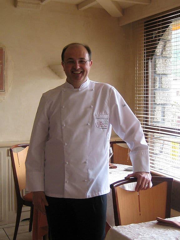 Denis Visselach Chef de Cuisine - Hôtel*** Restaurant Le Bellevue - Prats de Mollo la Preste