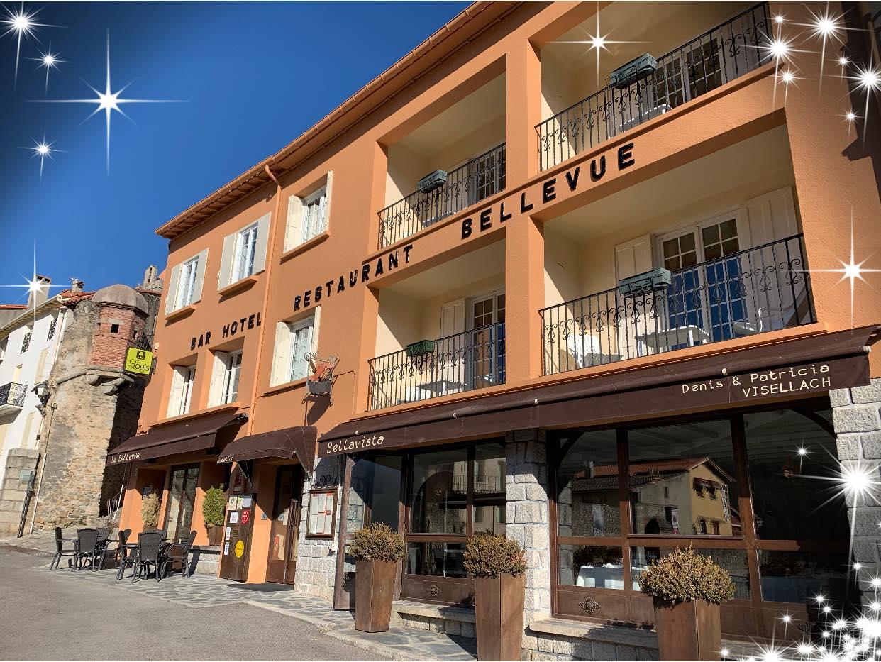 Hôtel Le Bellevue - Restaurant Bellavista - Prats de Mollo la Preste